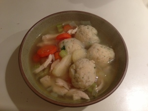 This year's Matzo Ball soup!