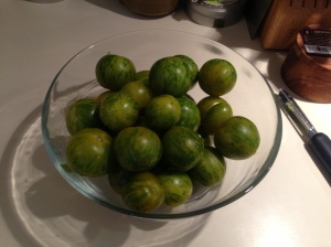 Heirloom Green Zebra Tomatoes