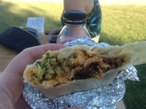 Korean Short Rib Burrito from Kogi Truck