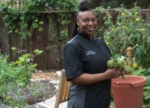 Chef Ikeena Reed of Keena's Kitchen, Organic Modern Soul Food