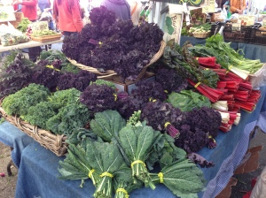 Temescal Farmer's Market Fare in Oakland