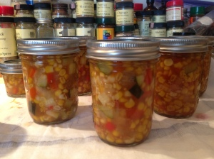 Can It--Sweet Corn and Zucchini Relish