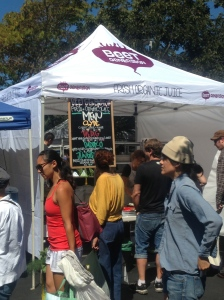 The Beet Generation Booth at the Temescal Farmer's Market