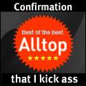 One of Alltop's endorsement badges!