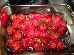 Step 1: Roast tomatoes