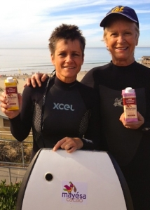 Mayesa Cacao co-founders Abby Hanneman (left) and Jane Adolph (right)