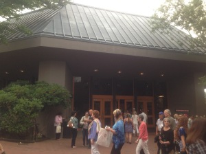 Outside the Oregon Shakespeare Festival